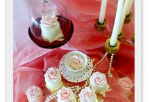 Minidortíčky / sladěné s barvou a motem svatby