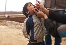 لننهي شلل الأطفال في حمص - الجولة الأولى / حملة تلقيح أطفال ريف حمص الشمالي ضد شلل الأطفال من الاحد 13-كانون الثاني 2016 حتى الجمعة 6-شباط- 2016 بدعم وتنسيق من وحدة تنسيق الدعم