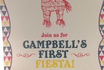 Campbell's first fiesta / Baby girl's first birthday party! / by Lauren (Black) Wight