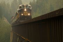 Canadian Trains / Railways and related topics in Canada