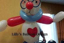 palloncini personaggi alice nel paese delle meraviglie