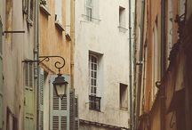 Provence, France / where I once lived