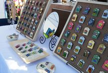 Craft Show Display Ideas / Great display ideas for craft shows, arts festivals, and other in person sales events