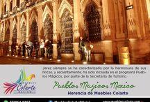 Pueblos Magicos México / Herencia de Muebles Colarte