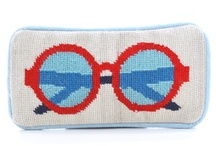 cross stitch glasses case