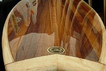 Wooden SUPs and Surfboards