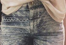 Tie Dye, Print, Silk