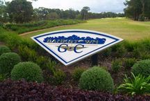 Club Signs / Signs for Sporting Clubs, Golf Clubs, and the like