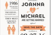 Wedding Invites & Save the Dates / by Jordyn Fones