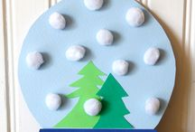 Winter Crafts for Kids | Cotton Balls