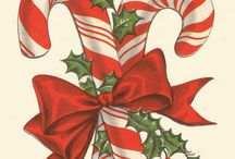 Christmas CandyCanes❤Peppermint Lollipops / by Judy Marie