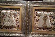 Kaftan  / Alüminyum folyodan yapılmış kaftan tabloları