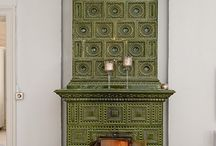 Fireplace & mantles / by Anna E