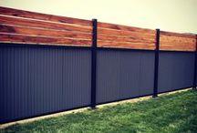 Outdoor fences