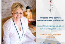 ETKİNLİKLER / Kanserle Dans Derneği'nin medicopin.com'un katkılarıyla düzenlediği ücretsiz online seminerler hakkında bilgiler...