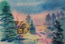 MarinaSokolova - -batik, painting art