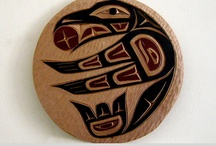 Haida, tlingit - native art