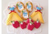 galletas de blancanieves
