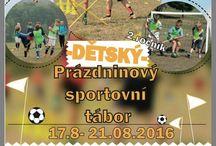 DĚTSKÉ TÁBORY www.balkapcup.eu / Dětské sportovní a ozdravné tábory a kempy pořádané naší neziskovou organizací SK BALKAP z.s. více: www.balkapcup.eu  777 70 80 34