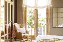 Пастельные оттенки, текстиль крупной вязки, покрывала и подушки ручной работы - все для домашнего уюта!