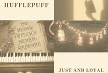 unafraid of toil / [hufflepuff]