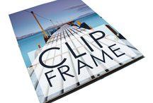 PERSPEX CLIP FRAMES / High Quality Clip Frames, Crystal Acrylic Safety Glazing