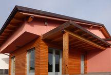 Villa classica a Palosco (BG) / Villa in legno di stile classico realizzata a Palosco (BG)