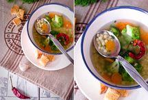 Soups / Первые блюда
