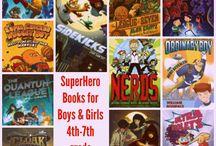 Super Hero Books for Older Readers (4th-7th)