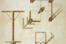 drawings - paper architecure / Visionnnary - fictitious - Invenzione - Multiple drawing conventions - Escher-like - Kafkaesque - Piranesi - immaginary - impossible