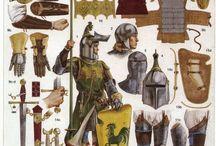 Caballeros medievales.
