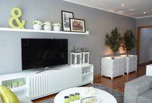 Living room radiator covers