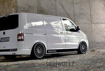 VW Transporters