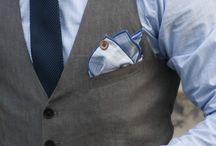 Koszula w kratę z krawatem
