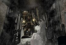Steampunk Machines / Mechanical and Technological items of the Steampunk sort.
