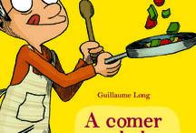 """Para chuparse os dedos / Selección de libros para a mostra """"Para chuparse os dedos"""" da Biblioteca Infantil e Xuvenil, sobre cociña."""