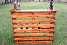using wooden pallets