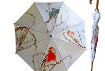 Umbrellas / Umbrellas designed by Rosehip and made in Durban