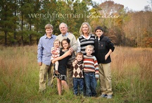 Photography - Families / by Mary Kunzman Wernke