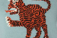 Tiger motifs and prints