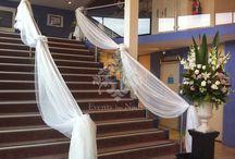 wedding decor ladder