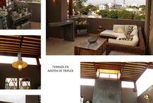 Terrazas - Oniria Arquitectura