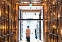 Elevator Passage to Entrance