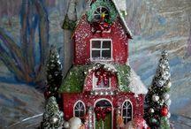 DIY Dollhouse Christmas