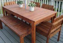 Patio tables DIY
