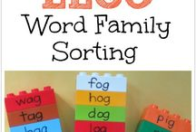 Word Families / activities and lesson plans to teach kids word families / by Melissa Taylor