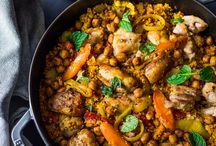 cous cous chicken dish