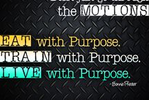 Fitness Forward / Power up with purpose.