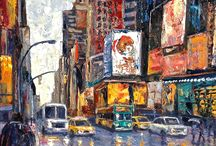 New York City paintings / by Connie Logan