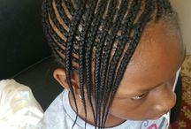 Tshego's Hair styles